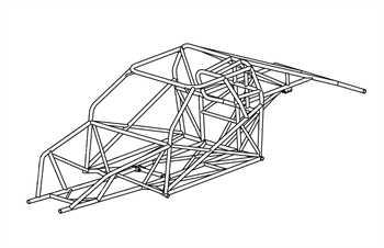 82-92 Camaro Mild Steel Chassis Kit