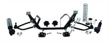 QA1 Suspension Control Arm Kit MU3ESA; Tubular Eco Street for 79-93 Mustang