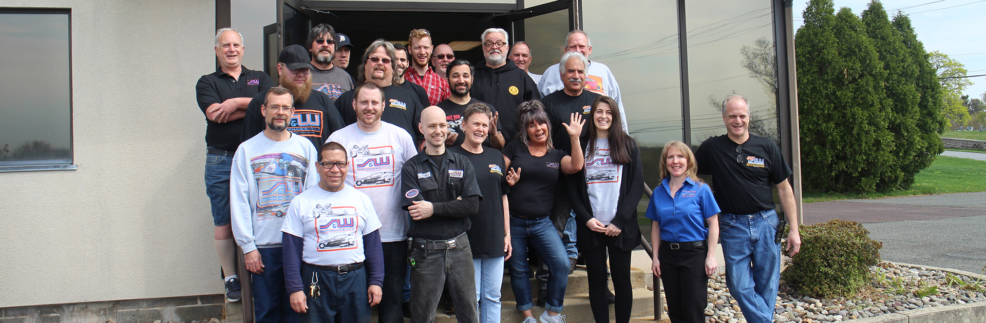 S&W Staff Group Photo May 2019