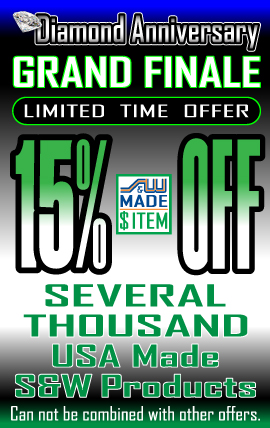 15% Off S&W Made Ad
