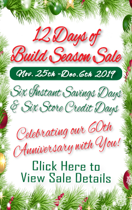 12 Days of Build Season Sale
