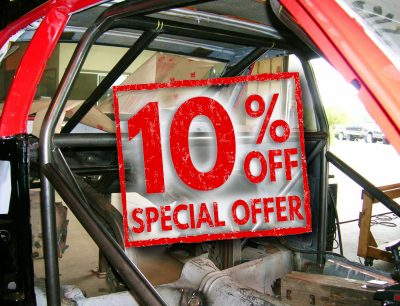 S&W 10 Point Chromoly Roll Cage Kits Discounted 10%