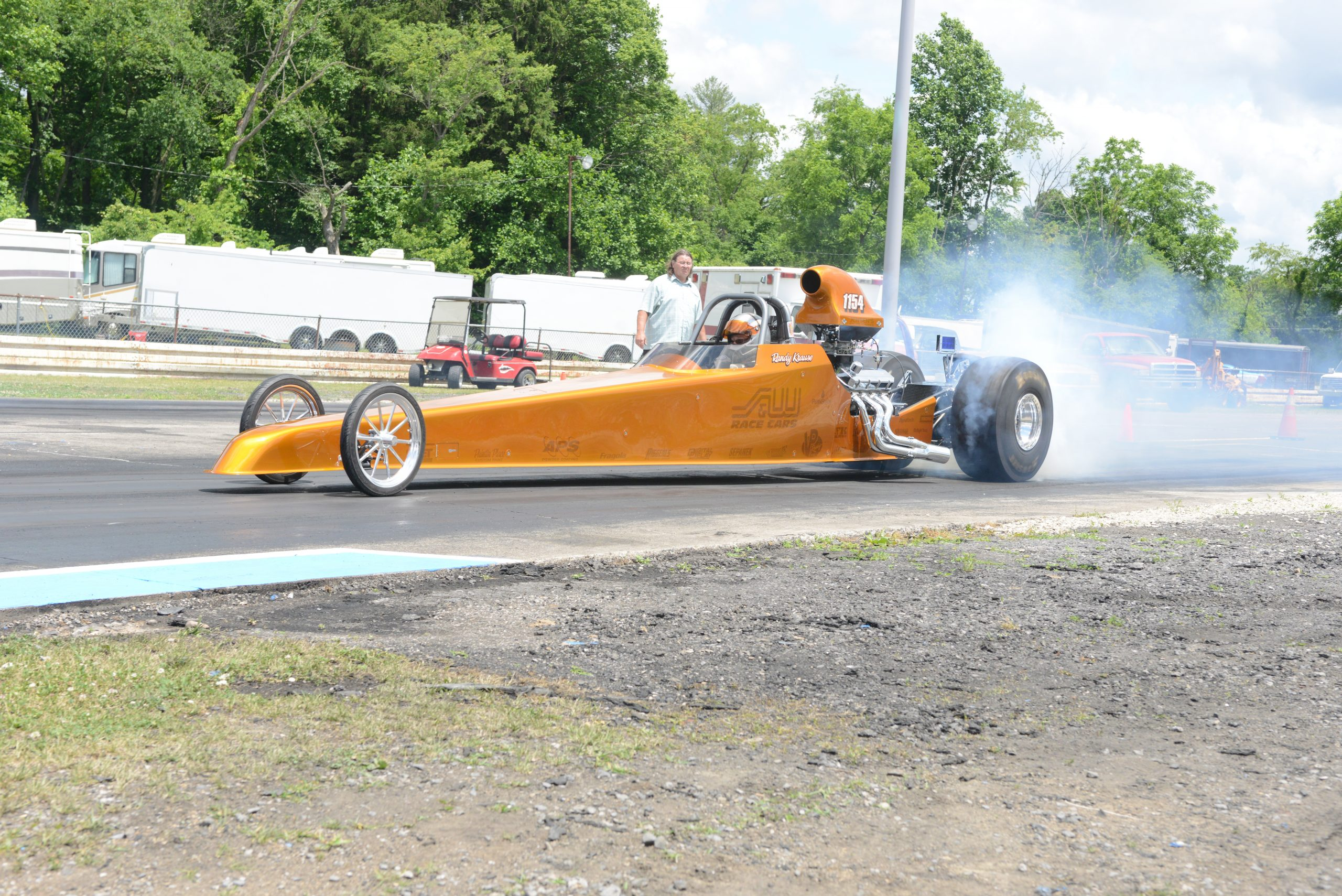 Randy Krause S&W 60th Anniversary Dragster 2020